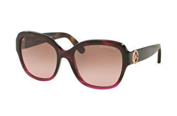 37904a7288 Michael Kors TABITHA III MK6027 Sunglasses 310114-55 - Tort Fuschia  Glitter tort Gltr