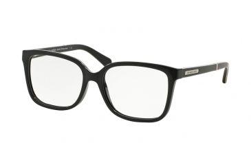 bcca37eb8e61 Michael Kors WHITSUNDAYS MK8007 Single Vision Prescription Eyeglasses  3009-55 - Black Dk Tortoise Frame