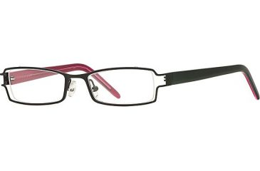 Michael Stars MS Ambitious SEMS AMBI00 Single Vision Prescription Eyewear - Black SEMS AMBI004730 BK