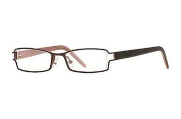 Michael Stars MS Ambitious SEMS AMBI00 Eyeglass Frames - Chocolate SEMS AMBI004730 BN