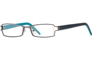 Michael Stars MS Ambitious SEMS AMBI00 Eyeglass Frames - Moon SEMS AMBI004730 GM
