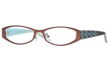 Michael Stars MS Bloom SEMS BLOO00 Progressive Prescription Eyeglasses - Java SEMS BLOO004930 BN
