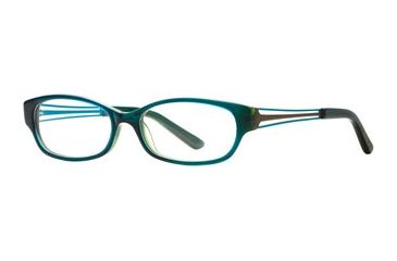 Michael Stars MS Casual Chic SEMS CASU00 Progressive Prescription Eyeglasses - Ocean SEMS CASU005235 BL