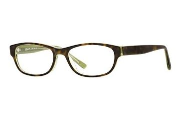 Michael Stars MS Chill Out SEMS CHIL00 Eyeglass Frames - Tort Lime SEMS CHIL005235 TO