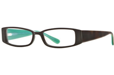 Michael Stars MS Crush SEMS CRUS00 Progressive Prescription Eyeglasses - Amber Jade SEMS CRUS005335 TO