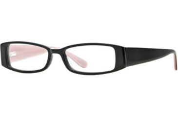 Michael Stars MS Crush SEMS CRUS00 Progressive Prescription Eyeglasses - Girly Black SEMS CRUS005335 BK