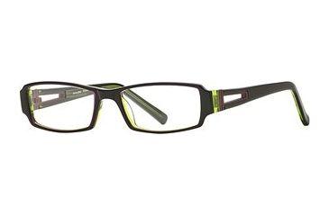 Michael Stars MS Expose SEMS EXPO00 Eyeglass Frames - Carbon SEMS EXPO005235 BK