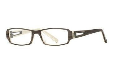 Michael Stars MS Expose SEMS EXPO00 Single Vision Prescription Eyewear - Dove SEMS EXPO005235 GY