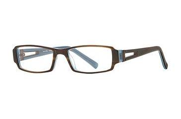 Michael Stars MS Expose SEMS EXPO00 Eyeglass Frames - Teak Blue SEMS EXPO005235 BN