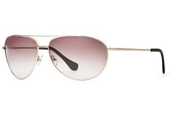 Michael Stars MS Flyer SEMS FLYE06 Single Vision Prescription Sunglasses SEMS FLYE066330 GO - Frame Color Gold, Lens Diameter 63 mm, Lens Diameter 68 mm