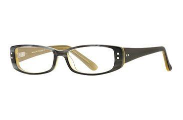 Michael Stars MS Freestyle SEMS FREE00 Single Vision Prescription Eyewear - Grey Lemon SEMS FREE005030 GY