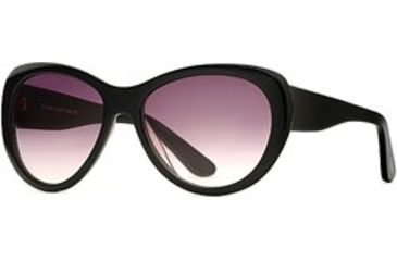 Michael Stars MS Lively SEMS LIVE06 Sunglasses - Black SEMS LIVE065835 BK