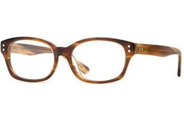 Michael Stars MS Punctual SEMS PUNC00 Progressive Prescription Eyeglasses - Tea SEMS PUNC005240 BN