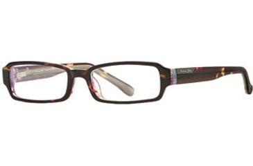 Michael Stars MS Serenity SEMS SERE00 Eyeglass Frames - Amber Swirl SEMS SERE004930 TO