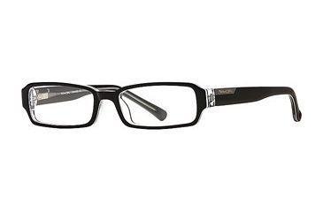 Michael Stars MS Serenity SEMS SERE00 Eyeglass Frames - Black Lucite SEMS SERE004930 BK