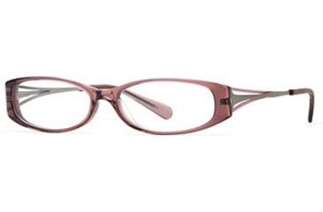 Michael Stars MS Sightsee SEMS SIGH00 Eyeglass Frames - Eggplant SEMS SIGH005330 PU