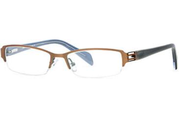Michael Stars MS Treasure SEMS TREA00 Eyeglass Frames - Caramel SEMS TREA005035 BN