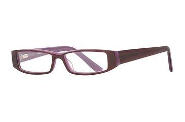 Michael Stars MS Trendy SEMS TREN00 Eyeglass Frames - Wild Grape SEMS TREN004835 PU