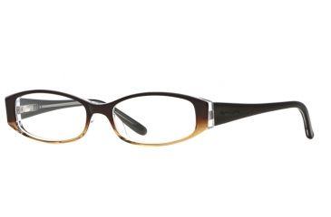 Michael Stars MS Untamed SEMS UNTA00 Single Vision Prescription Eyeglasses - Nutmeg SEMS UNTA005135 BN