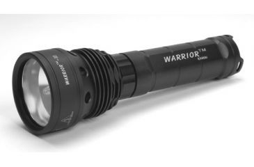 Microfire PK-3500R Warrior III Tactical Flashlight, Black, Large PK-3500R