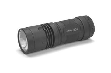 Microfire PT Terminator Tactical Flashlight with HID 10 Watt and Holster, Black, Large PT-501R