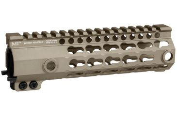 2-Midwest Industries G3 K-Series One Piece Free Float Handguard, KeyMod