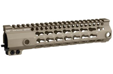 4-Midwest Industries G3 K-Series One Piece Free Float Handguard, KeyMod
