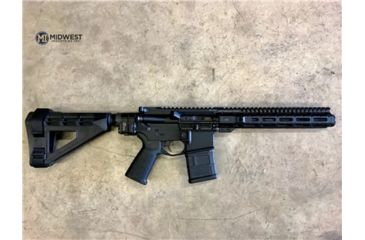 9-Midwest Industries AR-15 Free Float 1-Piece Combat Rail Handguard