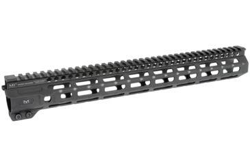 7-Midwest Industries AR-15 Free Float 1-Piece Combat Rail Handguard