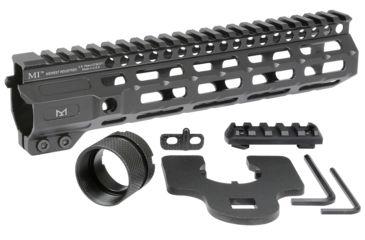 11-Midwest Industries AR-15 Free Float 1-Piece Combat Rail Handguard
