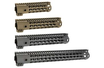 1-Midwest Industries G3 K-Series One Piece Free Float Handguard, KeyMod