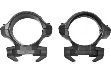 Millett Angle-Loc Weaver Style Riflescope Rings, 1in, Low, Engraved