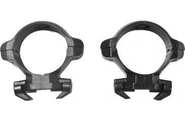 Millett Angle-Loc Weaver Style Riflescope Rings, 30mm, Low, Matte