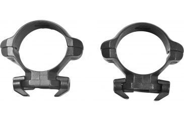 Millett Angle-Loc Weaver Style Riflescope Rings, 30mm, Low, Smooth