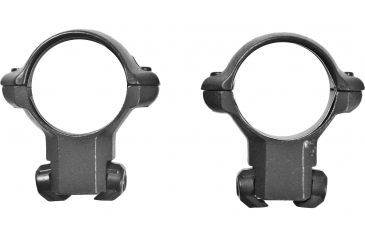 Millett Angle-Loc Weaver Style Riflescope Rings, CZ-452 European, 1in, Medium, Matte