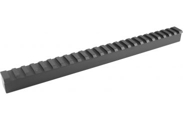 Millett Picatinny Rail Matte Blank Tactical, Clam
