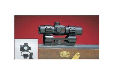 Millett 1 See Thru Scope Mount Matte Remington 740, 742, 760, SAV170, Clam