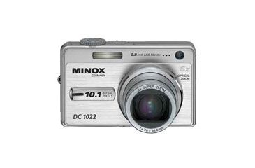 Minox DC 1022 10 MP 6x Optical Zoom Digital Camera 60639