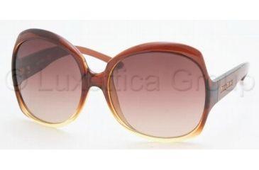 Miu Miu MU 02IS Sunglasses Styles Shadow Brown Frame / Brown Gradient Lenses, 7ZZ1Z1-6116, Miu Miu MU 02IS Sunglasses Styles Shadow Brown Frame / Brown Gradient Lenses