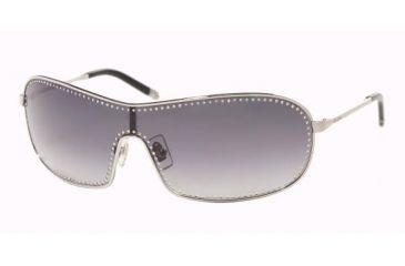 Miu Miu MU59HS Sunglasses Styles Silver Frame w/ Gray Gradient 132 mm Diameter Lenses, 1BC5D1-0132