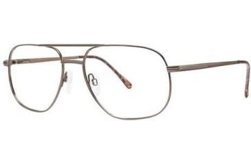 Moderato Moderato 202 Bifocal Prescription Eyeglasses - Frame Brown, Size 58/17mm MDMODERATO20202