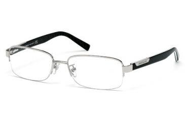 Mont Blanc MB0430 Eyeglass Frames - Shiny Palladium Frame Color