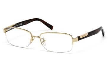 Mont Blanc MB0430 Eyeglass Frames - Shiny Rose Gold Frame Color