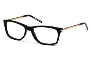 Mont Blanc MB0439 Eyeglass Frames - Shiny Black Frame Color