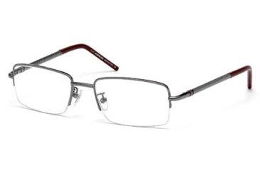 Mont Blanc MB0440 Eyeglass Frames - Shiny Gun Metal Frame Color