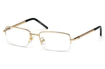 Mont Blanc MB0440 Eyeglass Frames - Shiny Rose Gold Frame Color
