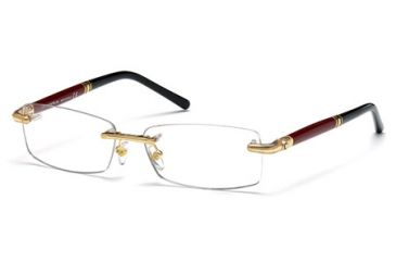 Mont Blanc MB0474 Eyeglass Frames - Shiny Endura Gold Frame Color