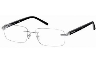 Montblanc MB0337 Glasses Frames - Shiny Palladium Frame Color