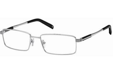 Montblanc MB0340 Eyeglass Frames - Shiny Palladium Frame Color