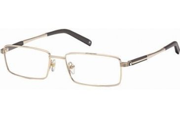 Montblanc MB0340 Eyeglass Frames - Shiny Rose Gold Frame Color